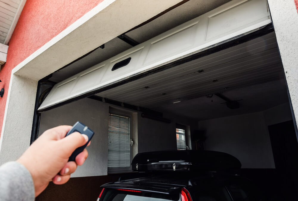 Wi-Fi Connected Garage Door